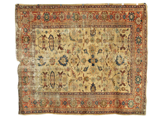 A 'Ziegler' carpet Sultanabad district, West Persia, circa 1890, 303cm x 256cm