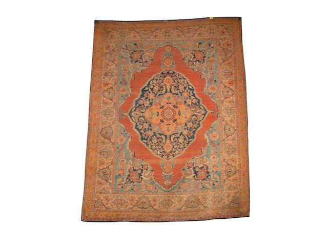 A 'Haji Jalili' Tabriz rug North West Persia, 174cm x 135cm