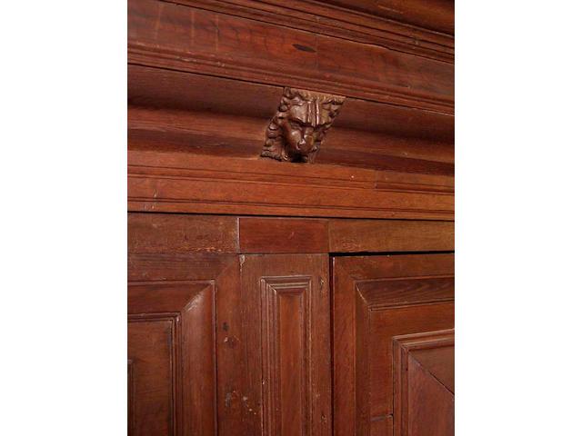 An 18th Century Dutch oak armoire