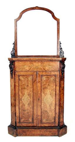 A mid Victorian walnut chiffonier,