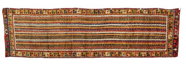 A Konya long rug West Anatolia, 408cm x 113cm