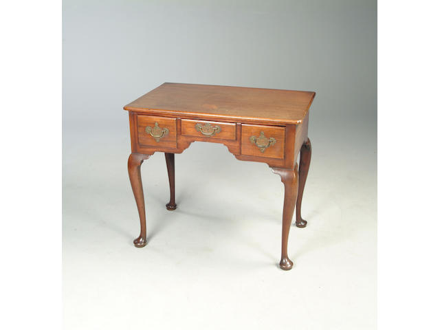 A mid 18th century side table