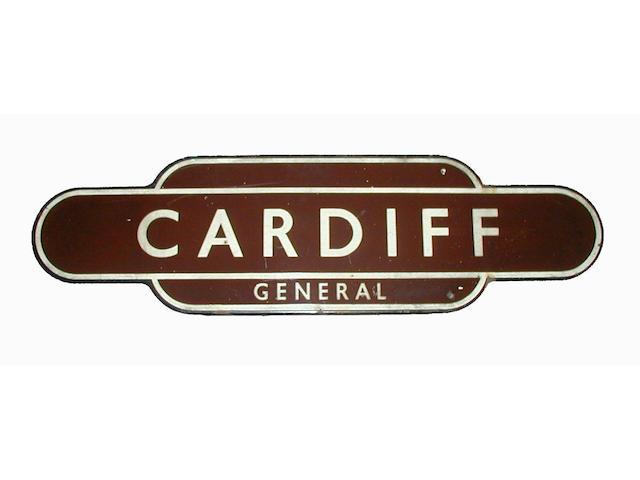 Totem (GWR) Cardiff General
