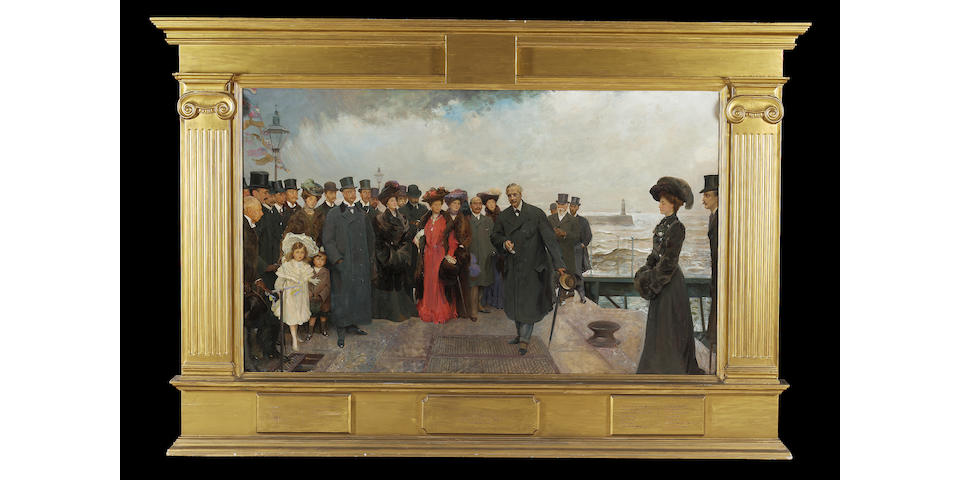 John F Bacon 'Opening of Seaham Docks'