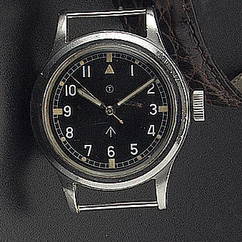 IWC. A stainless steel military issue centre seconds wristwatch   'Mark XI' circa 1948