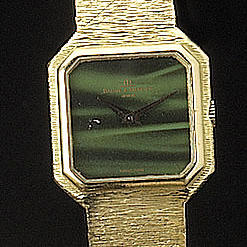 Baume and Mercier. An 18ct gold bracelet watch1980s