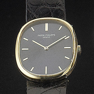 Patek Philippe. An 18ct gold manual wind wristwatch with original presentation box 'Elipse' Ref:3548