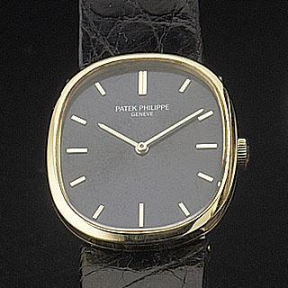 Patek Philippe. An 18ct gold manual wind wristwatch with original presentation box 'Elipse' Ref:3548