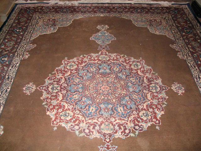 A Hamadan carpet Central Persia, 379cm x 277cm