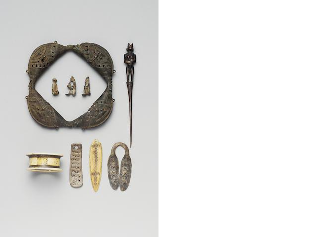 Nine African Artefacts