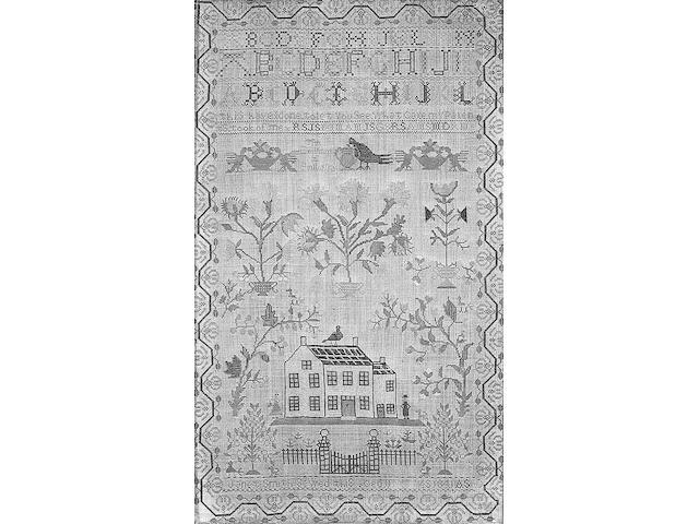 A Victorian sampler,