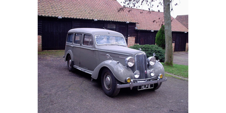 Originally supplied to Her Majesty Queen Mary,1946 Humber Super Snipe 4,086cc Estate Van 8700058