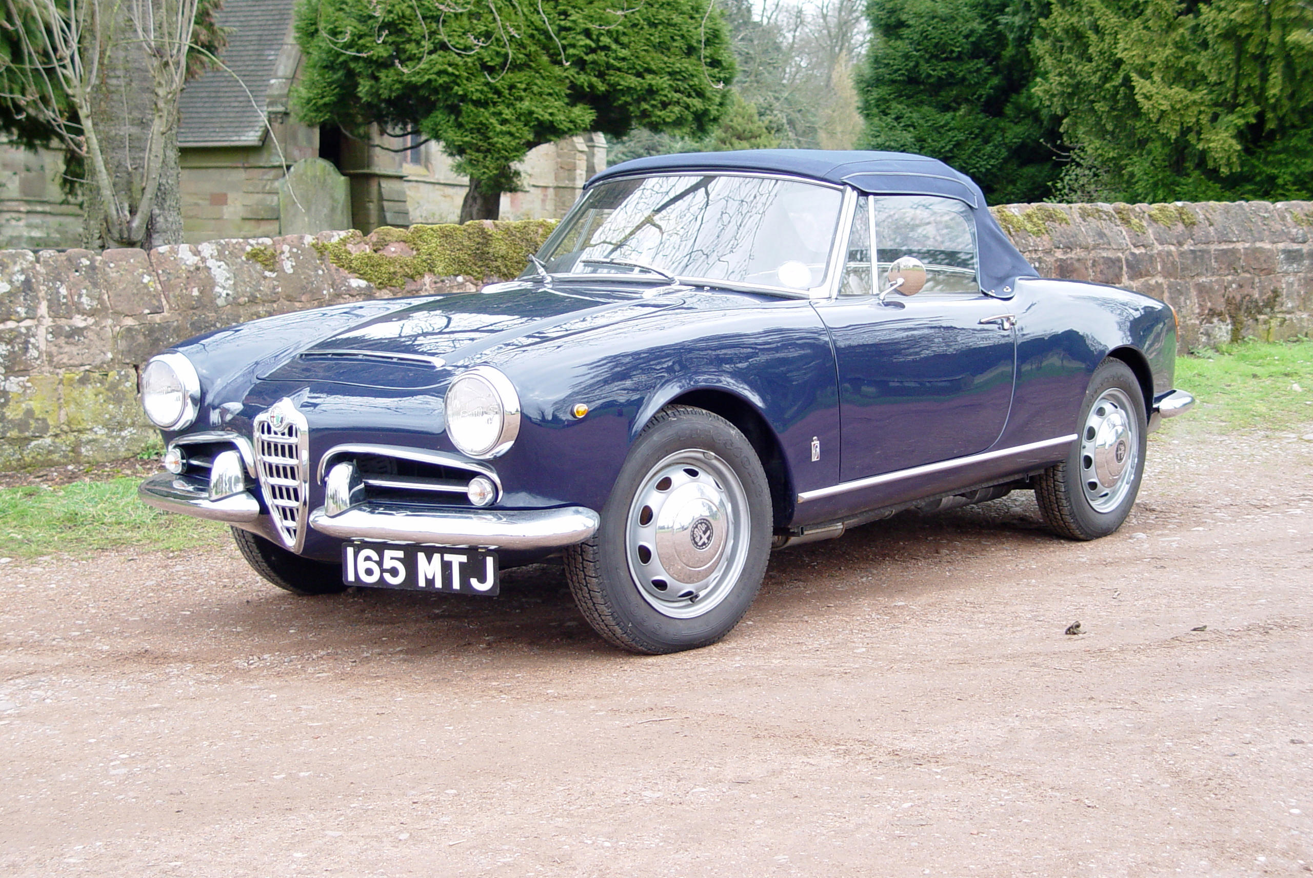 1963 Alfa Romeo Giulia Spider Coachwork by Pininfarina Registration no. 165...