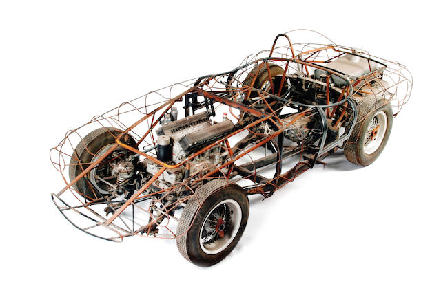 The Ex-Fernando de Mascarenhas/Borge Barreto,1955 3-litre FERRARI 500/750 MONDIAL/MONZA  Spider Corsa SPORTS-RACING TWO-SEATER  Chassis no. 0560MD Engine no. (internal) 42 MZ