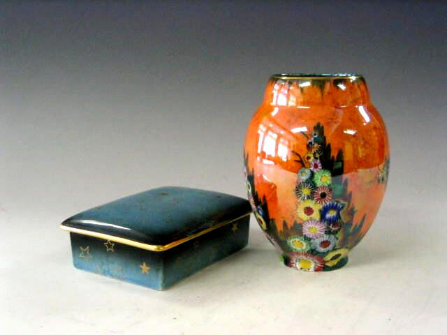 Carlton Ware, An oviform vase,