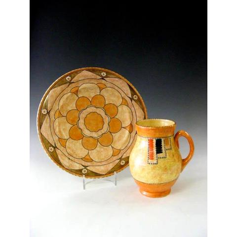 Crown Ducal, A single handled jug,
