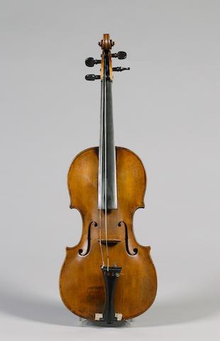 A good Mittenwald Violin attributed to Joseph Klotz circa 1780