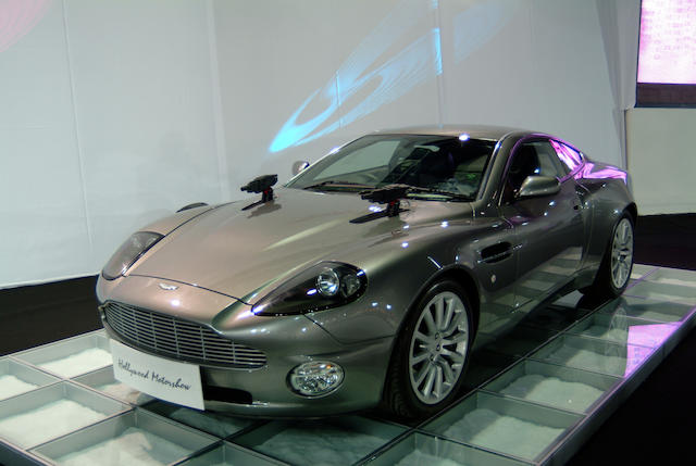 The ex-James Bond 'Die Another Day',2002 Aston Martin V12 Vanquish Coupé SCFAC13372B500172