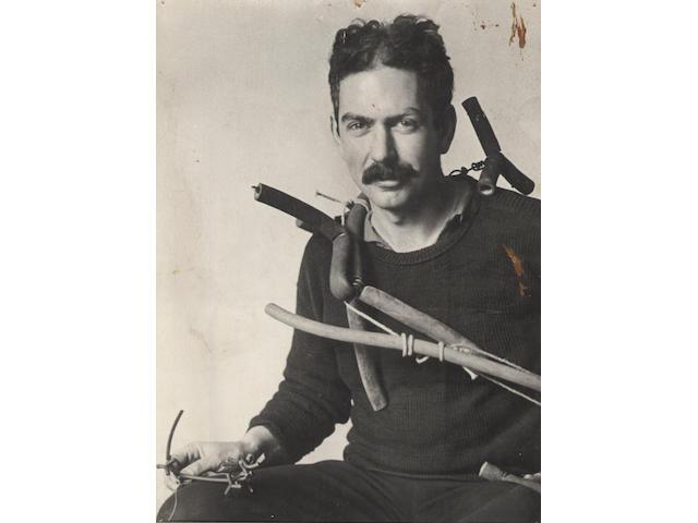ANDRE KERTESZ Alexander Calder, Paris, c.1928