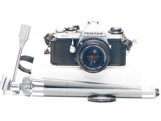 Pentax ME camera,