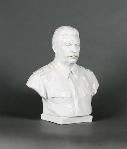 Veniamin Jakovlevich Bogulubov (1895-1954) and Vladimir Josifovic Ingal (1901-1966) Bust of Josef St