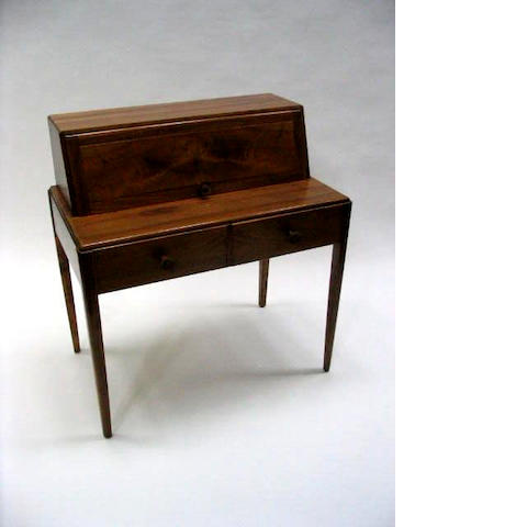 Cotswold school, A walnut bureau,