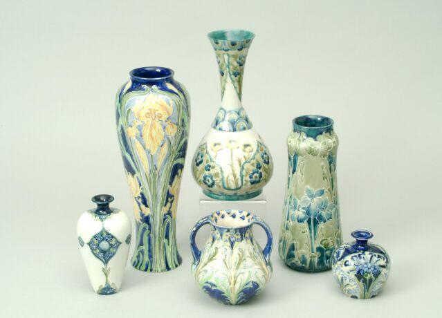 "A Macintyre Moorcroft ""Florian ware"" vase"