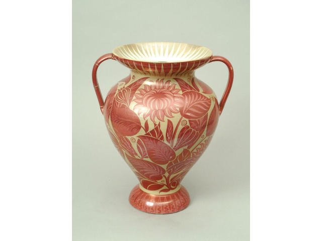 A William De Morgan vase