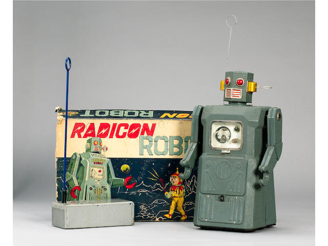 A Masudaya, Gang of Five, Radicon Robot, Japanese circa 1955