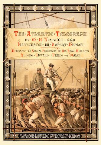 Atlantic Telegraph Russell (William Howard) The Atlantic Telegraph
