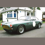 The ex-Lord Downe/Richard Williams/Mike Salmon,1960 Aston Martin DB4 4.2-Litre Lightweight DB4/315/R