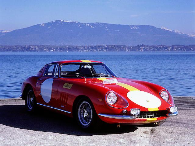 The ex-Ecurie Francorchamps, Le Mans 24-Hour race,1966 Ferrari 275GTB/C Berlinetta Competizione 0902