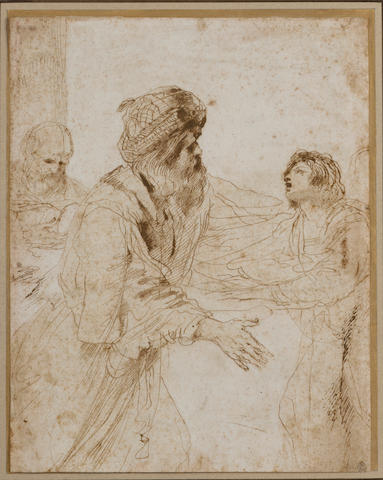 Il Guercino The return of the Prodigal Son