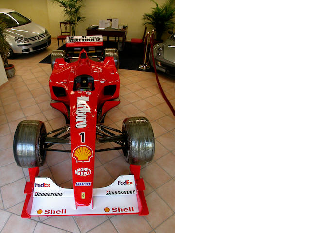 The most important car sold by Ferrari in 20 years. The ex-Michael Schumacher Italian, Indianapolis,