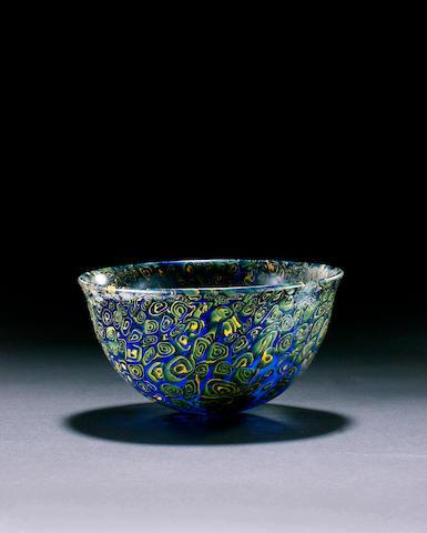 A Hellenistic mosaic glass bowl