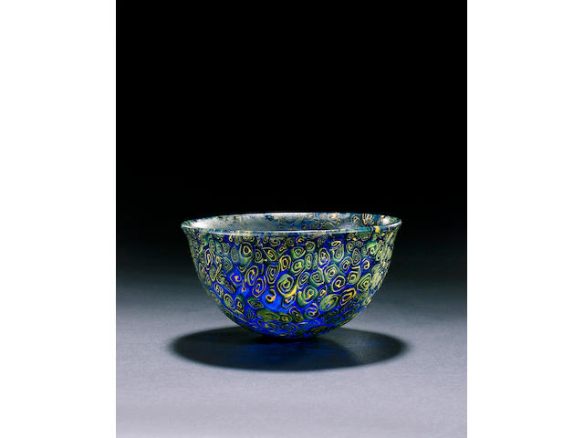 A Hellenistic mosaic glass bowl