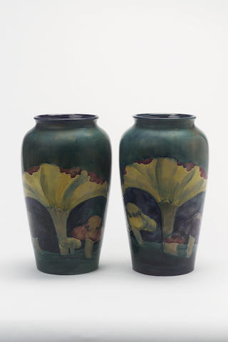'Claremont' A Pair of Vases