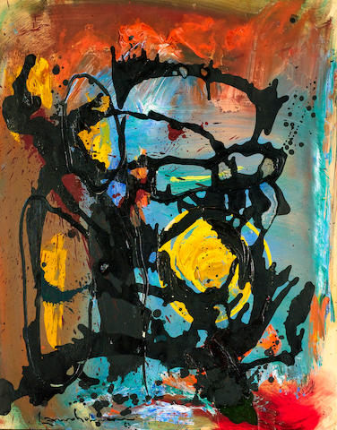 Hans Hofmann (1880-1966) Untitled 74 x 58 cm. (29 1/8 x 22 7/8 in.)