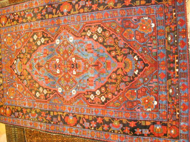 A good Hamadan rug,