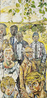 John Bratby R.A. (1928-1992) I really think chaps should dress properly in nice company, and there m