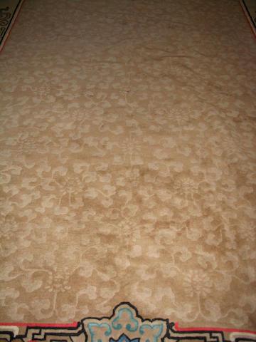 A Chinese carpet 358cm x 251cm