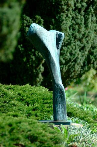 Dame Barbara Hepworth (1903-1975) Torso I (Ulysses) 133 cm. (52 1/4 in.) high (including base)