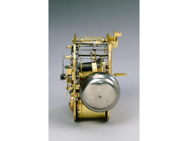 An important mid 18th century ormolu clock George Graham, London 41cms. high.