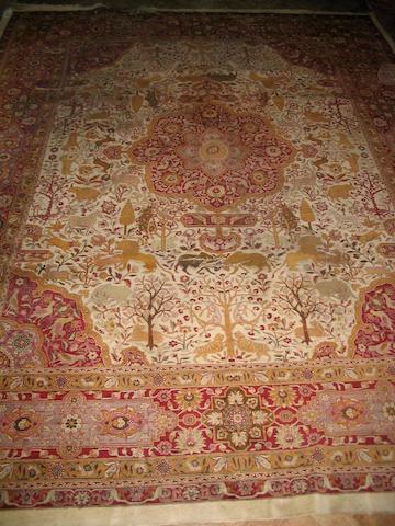A Tekke rug West Turkestan, 145cm x 111cm