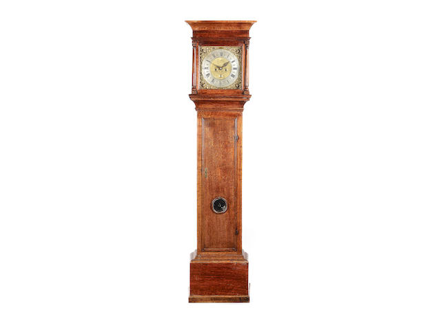 An 18th century oak longcase clock Joseph Smith, Gloverstone