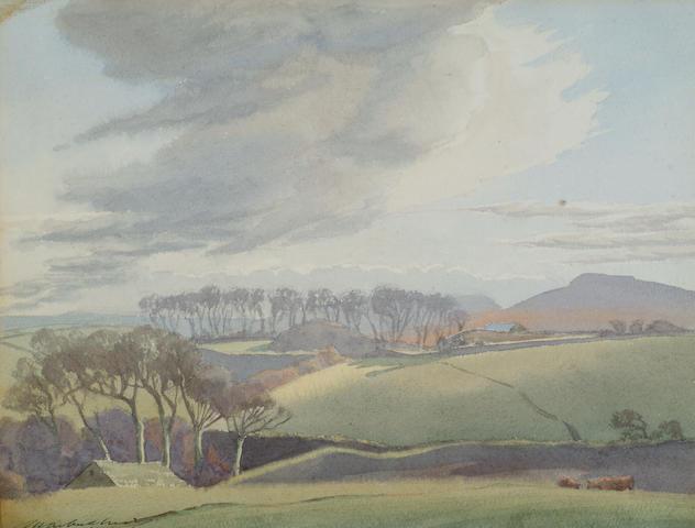 Malcolm Arbuthnot (1874-1967) 'Cornish landscape'