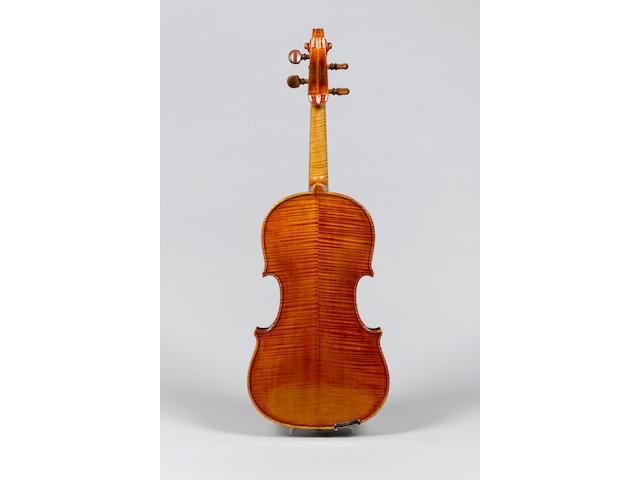 A fine and handsome Italian Viola by Enrico Clodoveo Melegari, Turin 1880