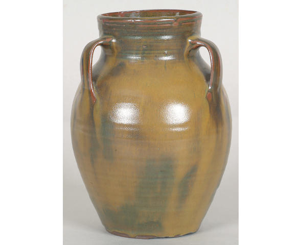 A Michael Cardew three handled vase