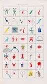 MEXICAN PICTOGRAMS SPENCER (JAMES E.) Hieroglyphica Mexicana. Or, an Introduction into the Origin, N