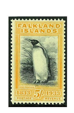 Falkland Islands: 1933 Centenary set mint, fine and fresh. SG £2,500 (049)